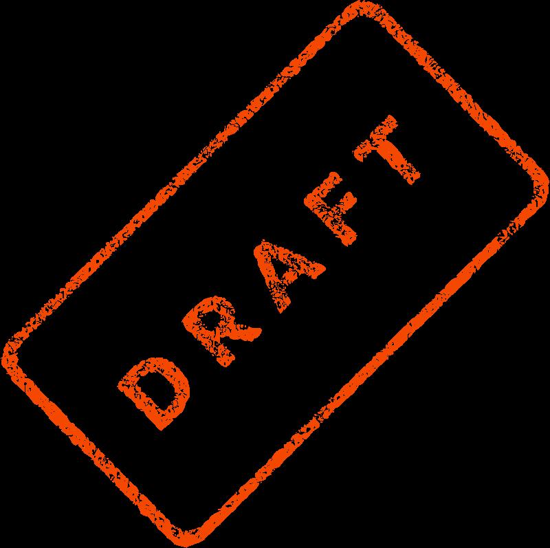 Free Draft Business Stamp 2
