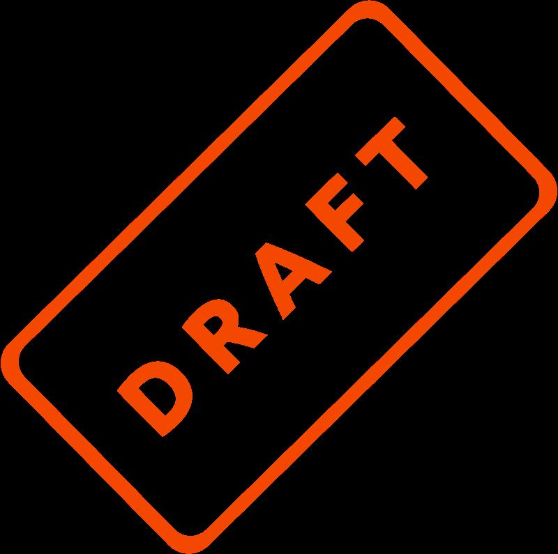 Free Draft Business Stamp 1