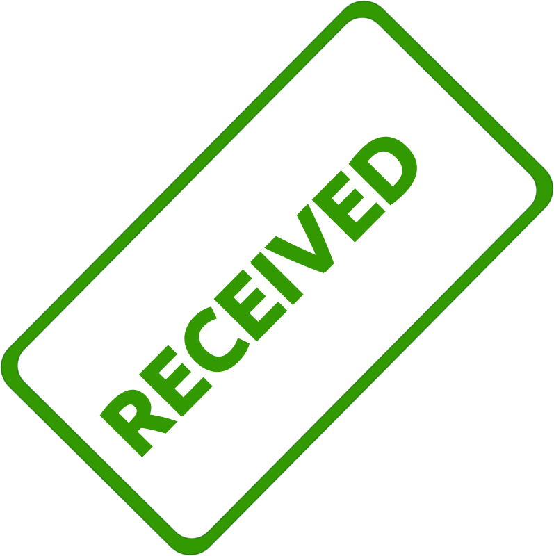 Free Received Business Stamp 1