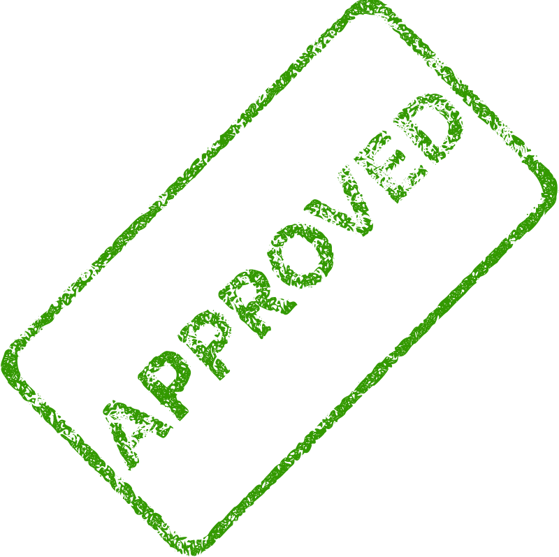Free Approved Business Stamp 2