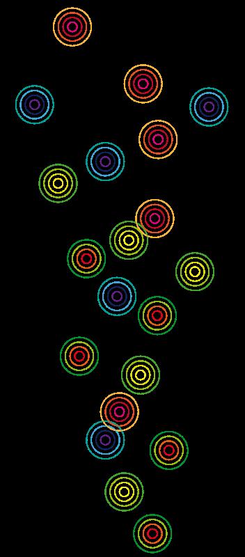Free Clipart: Circles of color | presquesage