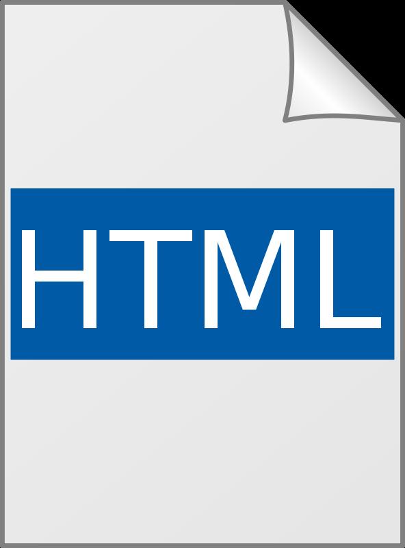Free Icon HTML - Ícone