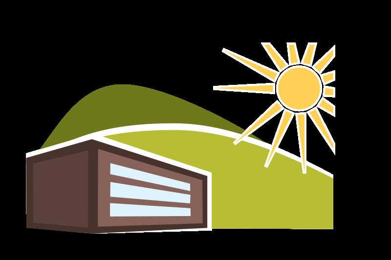 Free Sunny Summer House