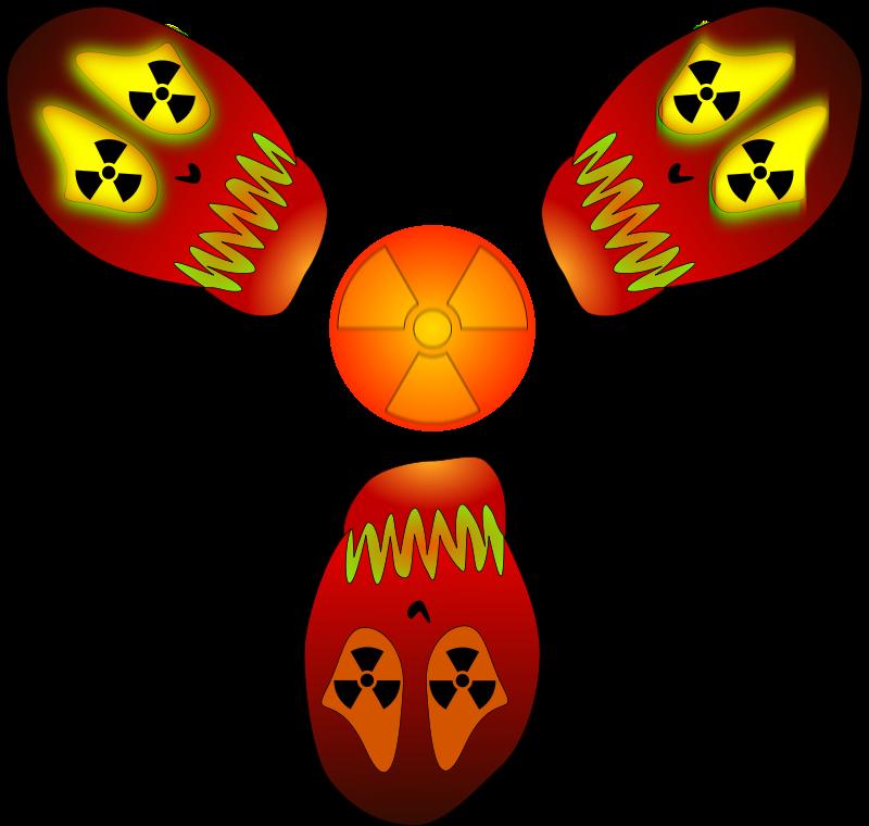 Free Skull - nuclear warning