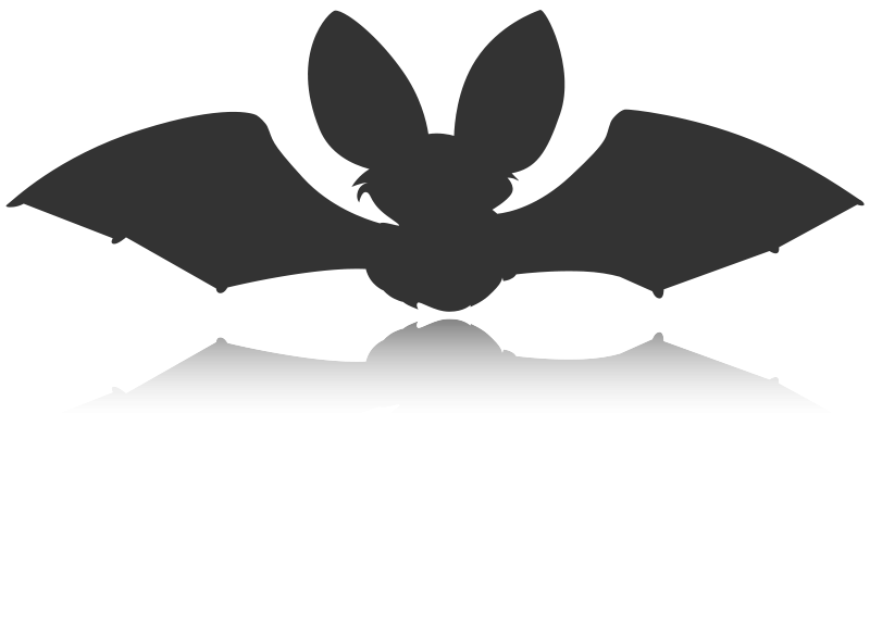 Free Bat Silhouette Icon