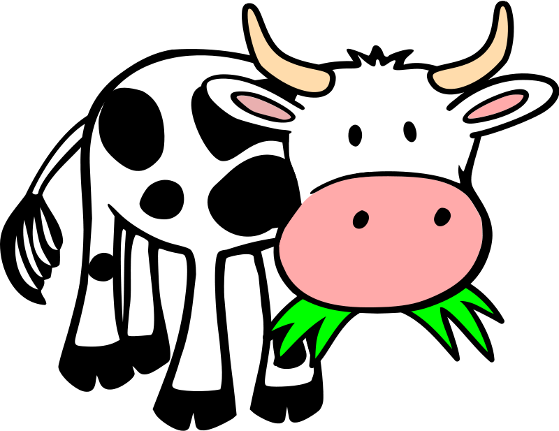 free clipart grass eating cow onsemeliot rh 1001freedownloads com crows clip art cows clip art free images