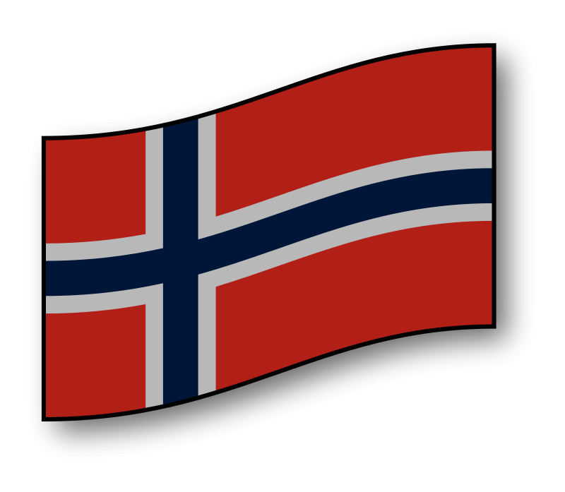 Free clickable Norway flag
