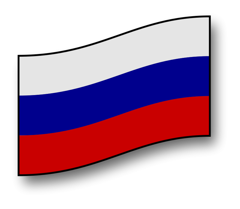 Free clickable Russia flag