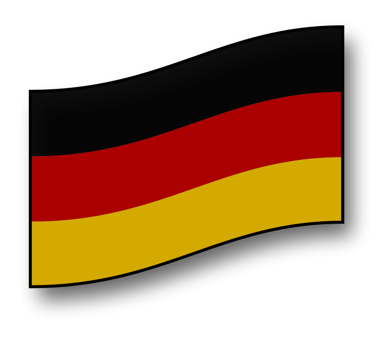 Free clickable Germany flag