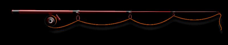 Free fishing rod