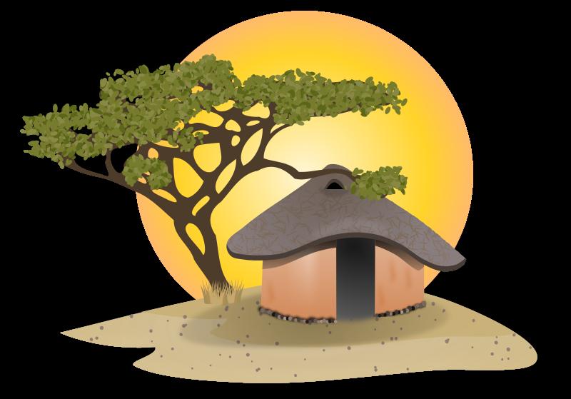 Free African Hut