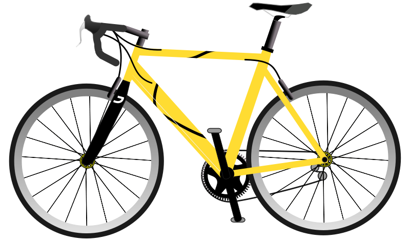 Free Yellow Speed Bike