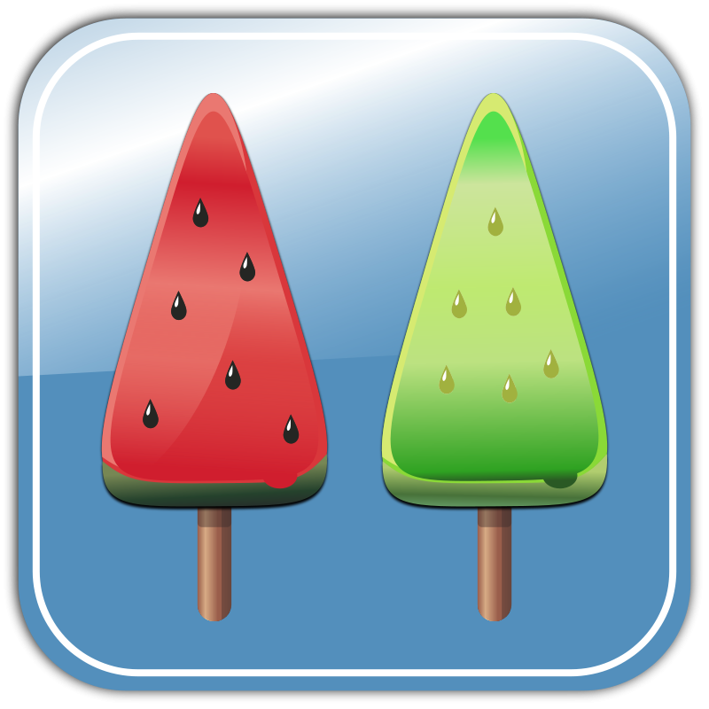 Free Melon Ice candies