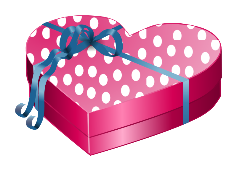 Free Valentines Day - Gift Box