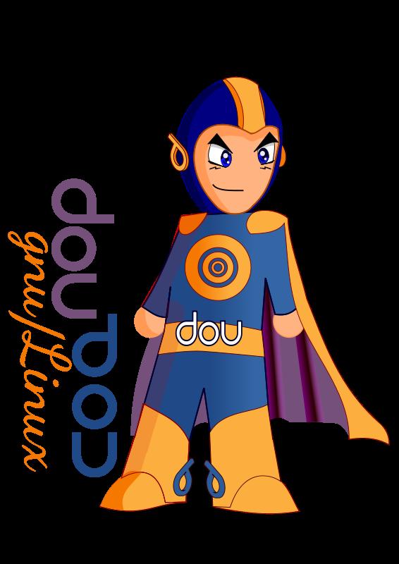 Free Super Hero DOU
