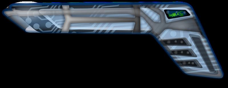 Free Futuristic Gun