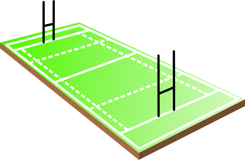 Free Rugby field
