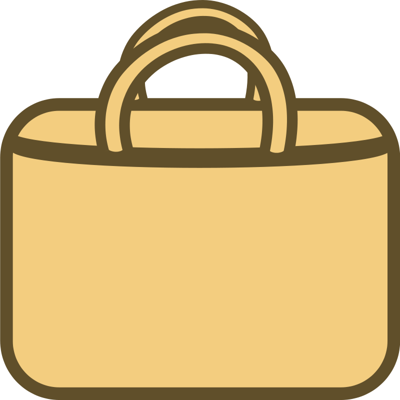 Simple Shopping Bag Logo/Icon