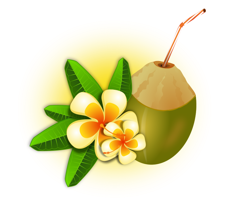 Free Coconut Cocktail