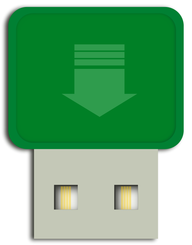 Free Clipart: Flash drive mini | gsagri04