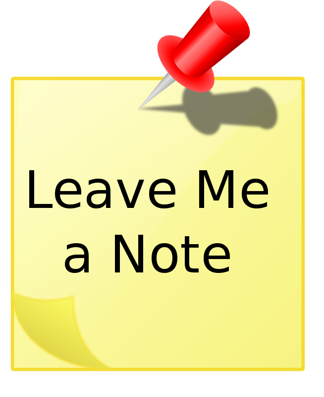Free Leave Me A Note