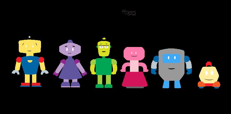 Free Free Vector Robots
