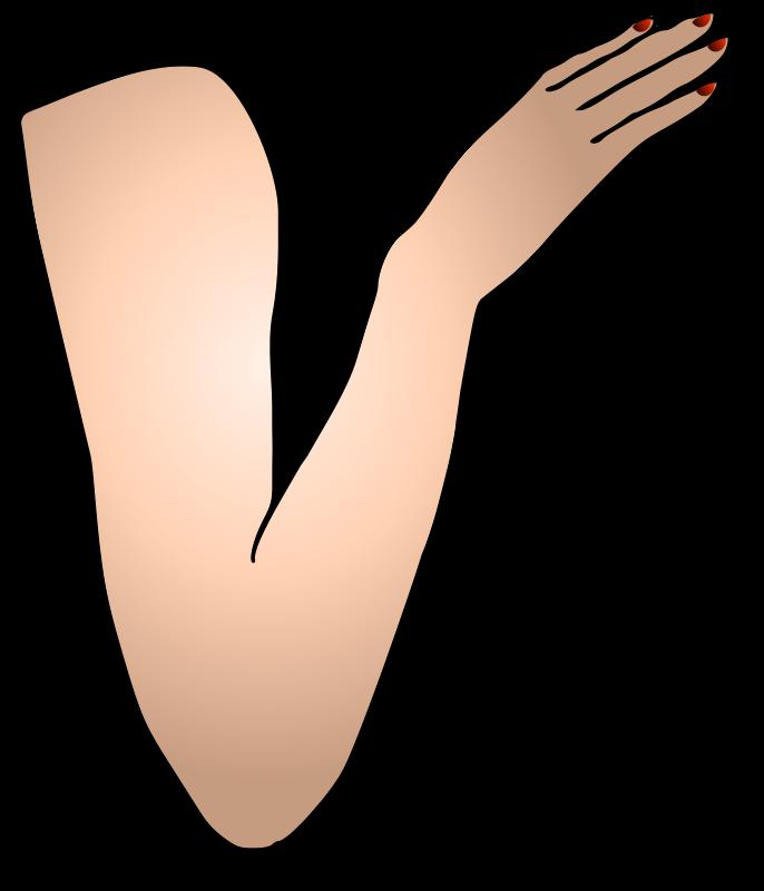 Free St Patricks Girl Right Arm