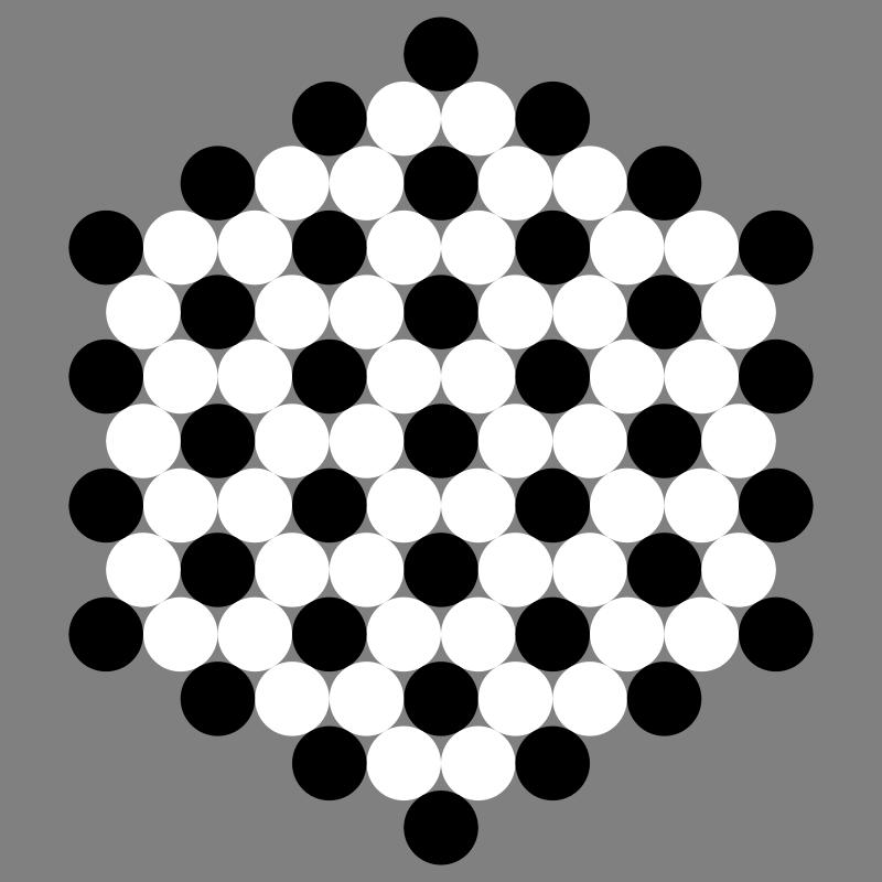 Free June 25 2012 black and white circles