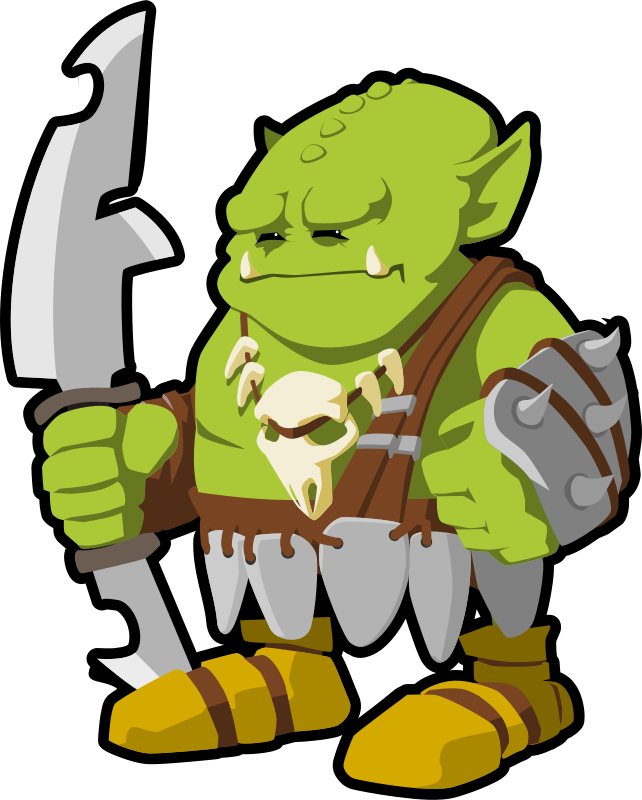 Free orc warrior