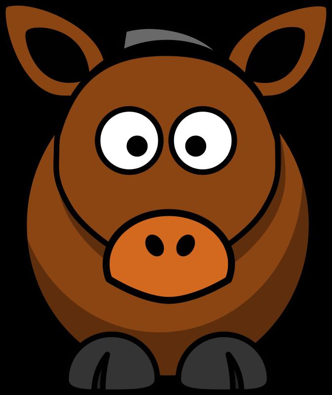 Free Cartoon Horse