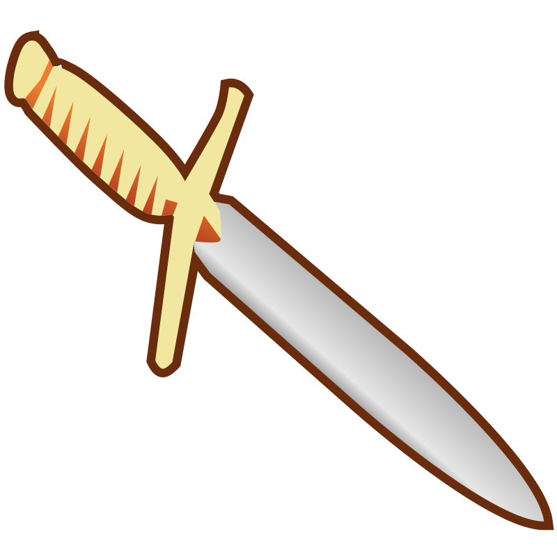 Free Simple Pagan Knife Icon