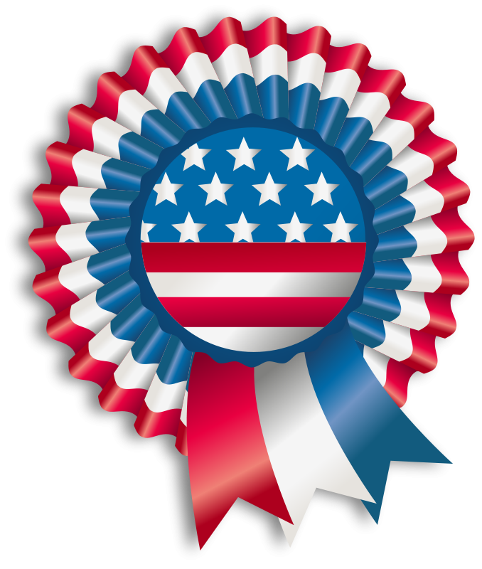 Free 4th July Ribbon