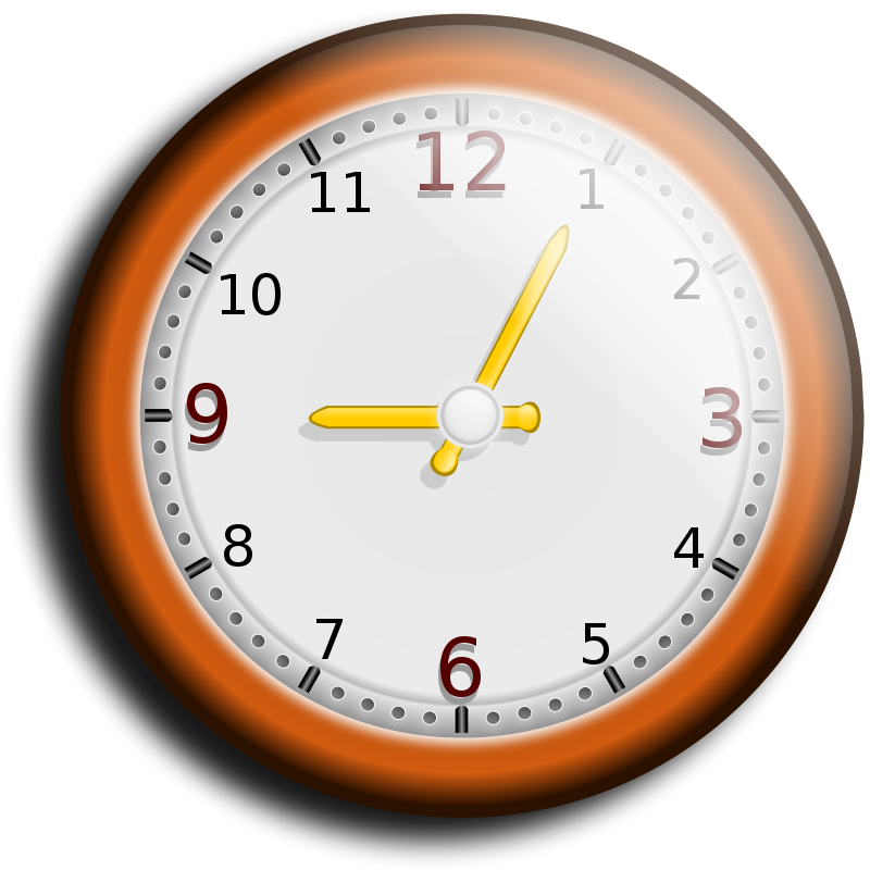 Free Clipart: Wall clock | hatalar205