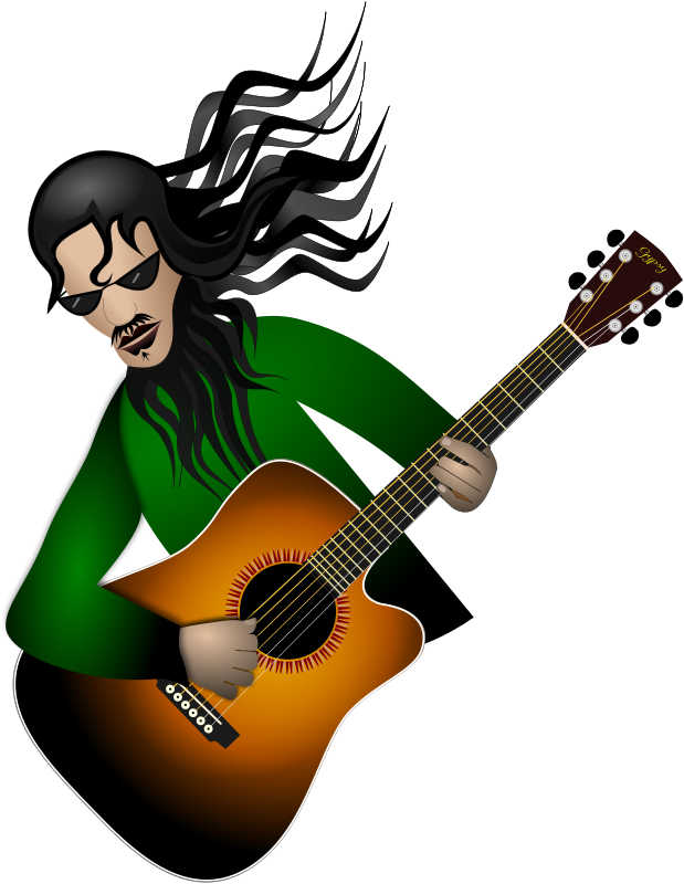 Free Clipart: Guitar Dude | Merlin2525
