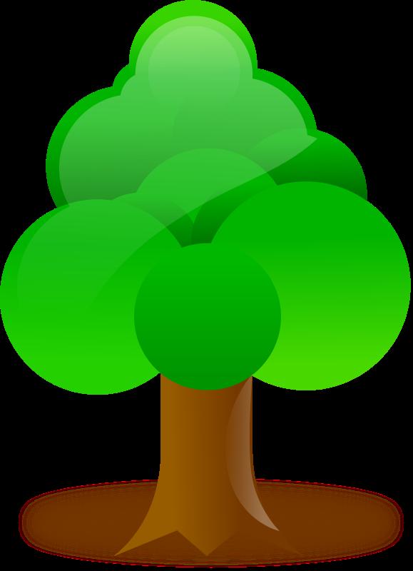 Free Clipart: Tree   diamonjohn