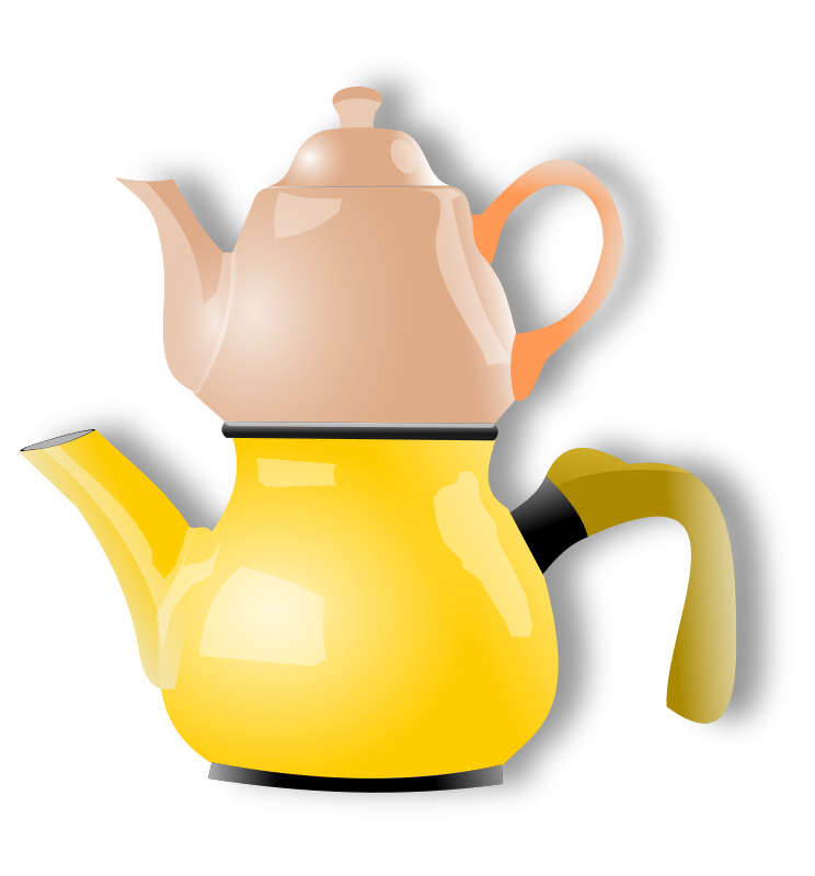 Free shiny teapot