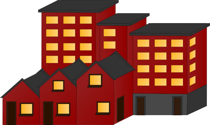 Free Appartment buildings and town houses