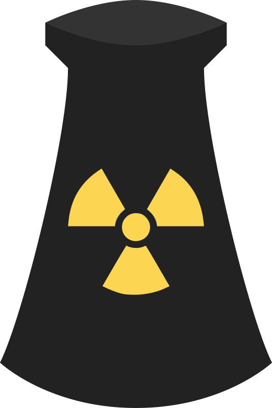 Free Nuclear Power Plant Icon Symbol 3