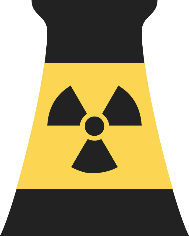 Free Clipart Nuclear Power Plant Reactor Symbol 2 Qubodup