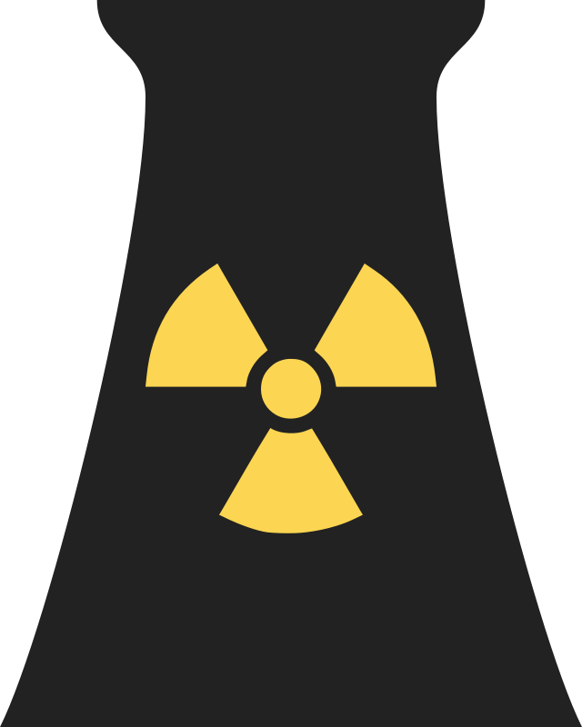 Free Nuclear Power Plant Symbol 1