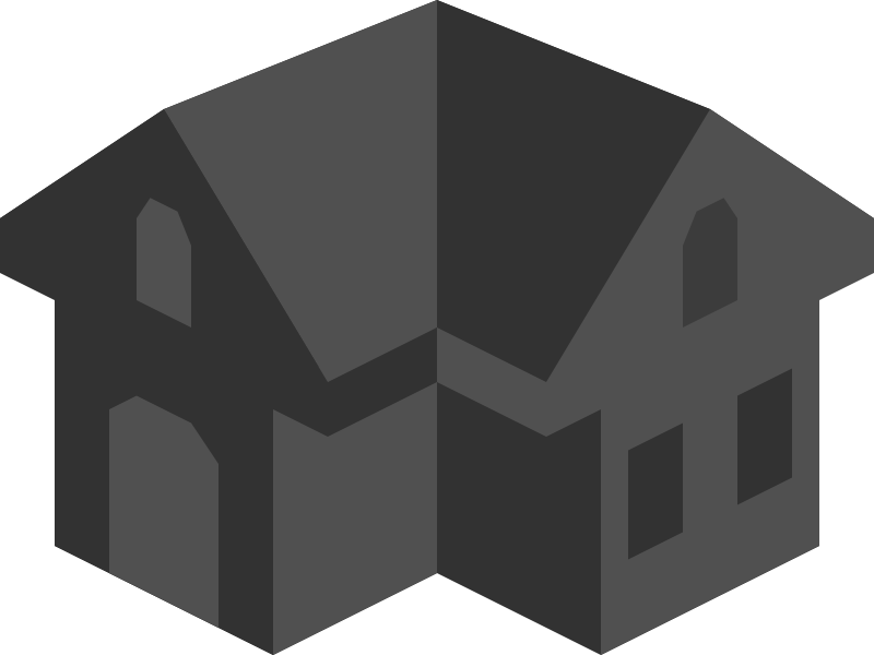 Free Placeholder Isometric Building Icon Colored Dark Alternative 2