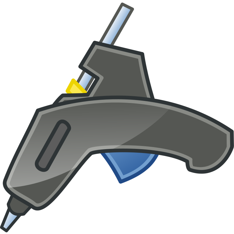 Free Glue Gun Tango Icon