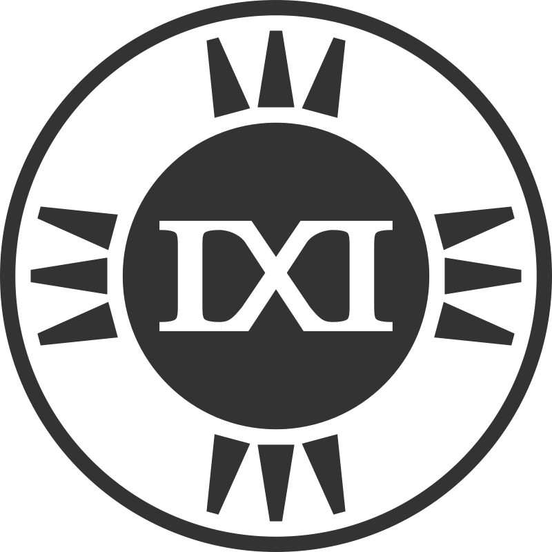 Free Fictional Brand Logo: IXI Variant D