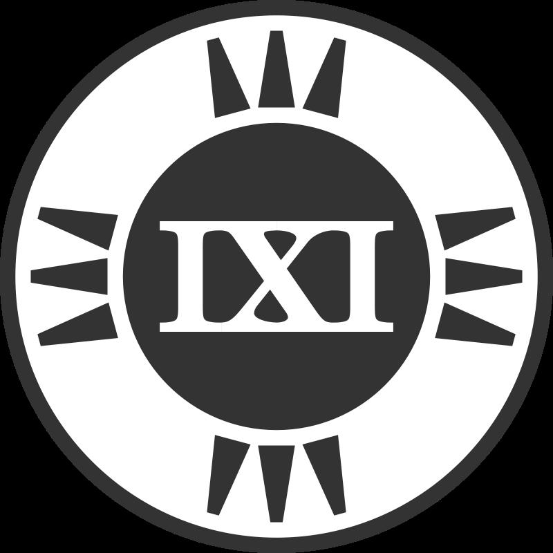 Free Fictional Brand Logo: IXI Variant B