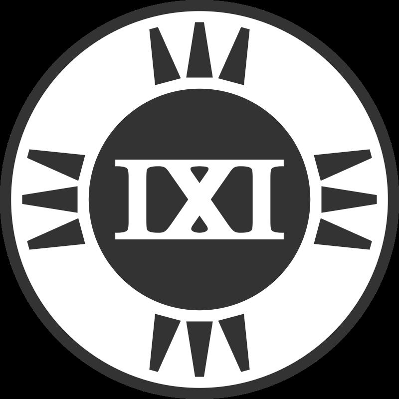 Free Fictional Brand Logo: IXI Variant A