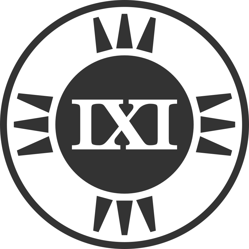 Fictional Brand Logo: IXI