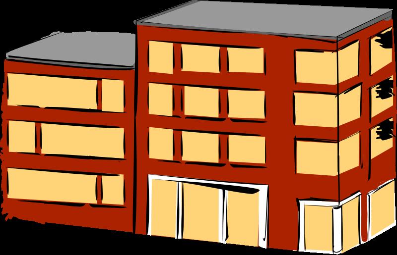 Free Apartment building