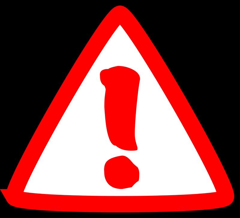 Free Clipart: Atención, warning   mediobit