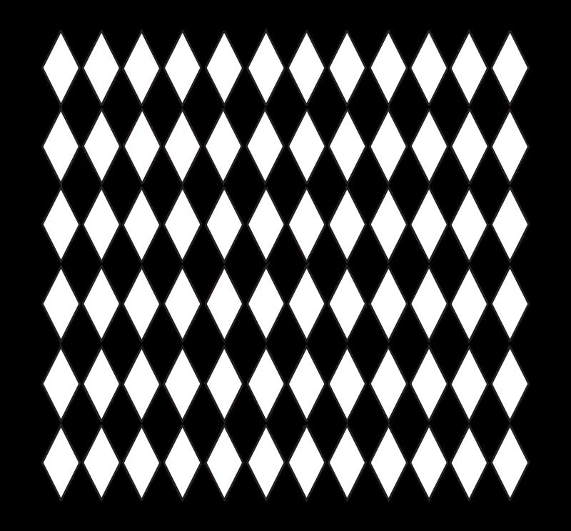 Free Diamond Grid Pattern - No Color 1