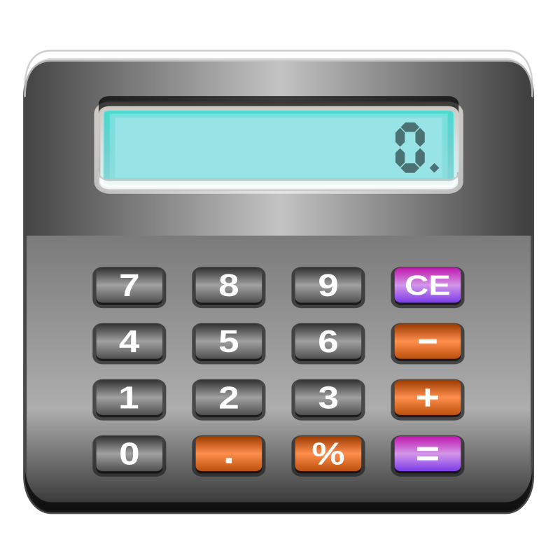Free Clipart: Calculator | ilnanny